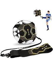 SKL Football Kick Trainer - Ausilio per Allenamento di Calcio per Bambini e Adulti, Mani libere, con Cintura Elastica, Universale, Adatto per palloni da Calcio #3#4#5