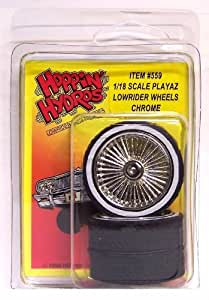 Amazon Com Hoppin Hydros 1 18 Scale Playaz Rims And