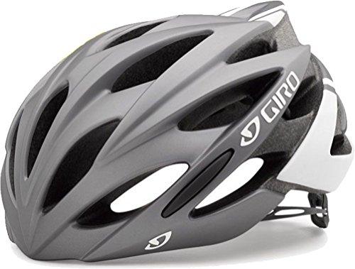 Giro Savant MIPS Helmet (Matte Titanium/White, Small (51-55 cm)) (Giros Savant)
