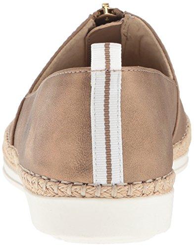 Anne Klein Dames Zipdown Synthetische Loafer Licht Brons