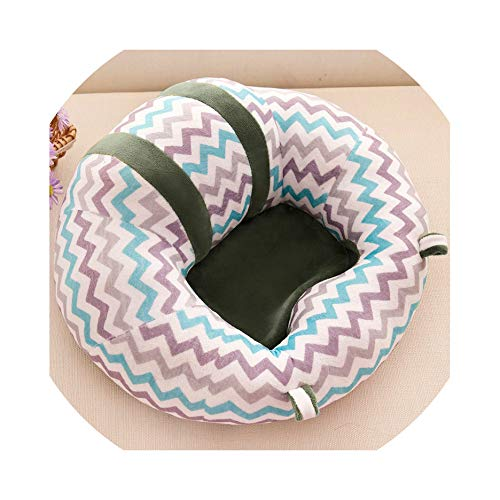 Baby Support Seat Sofa Cute Soft Animals Shaped Infant Baby Learning to Sit Chair Keep Sitting Posture Comfortable,12,S ()