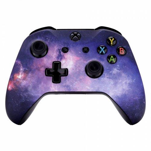 Xbox One Wireless Controller for Microsoft Xbox One - Custom Soft Touch Feel - Custom Xbox One Controller (Galaxy) ()