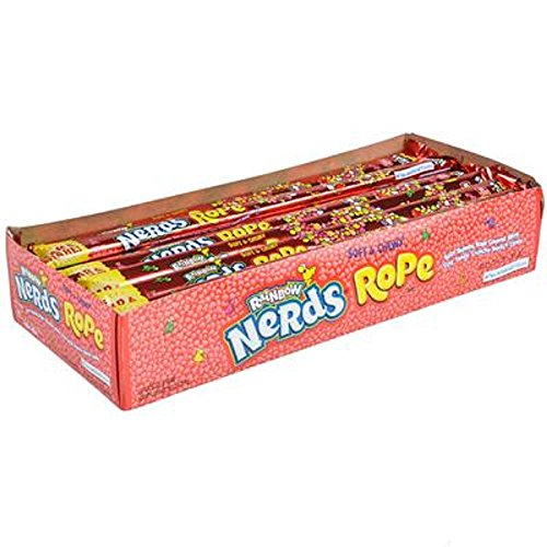 Nerds Rope Candy, Multicolored. 24 pieces. ()