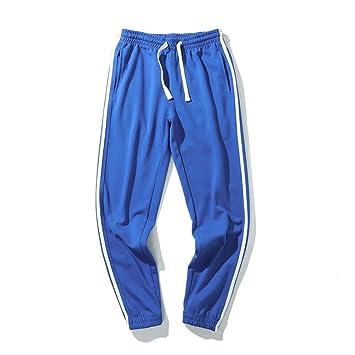 Pantalones de chándal Jogger para hombre Rayas laterales ...