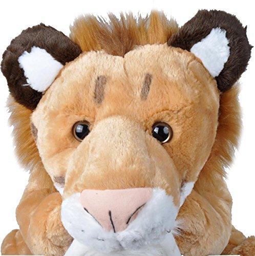 "51gNACUAlML - Wild Republic Jumbo Smilodon Plush, Giant Stuffed Animal, Plush Toy, Gifts for Kids, 30"""
