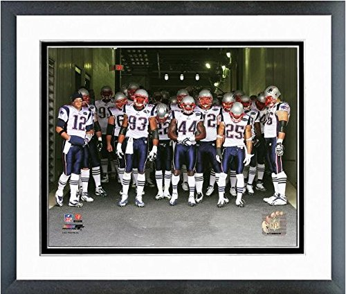 New England Patriots Team Introduction Photo (Size: 12.5