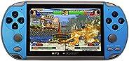 JINQII X7 Console de Jogo Portátil de 4,3 Polegadas Consola Nostalgic Dual-Shake Game Console 8G Jogos Embutid