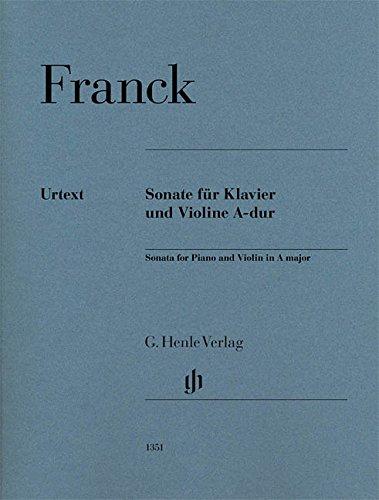 Violinsonate A-dur; revidierte Ausgabe