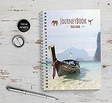 Reisetagebuch Thailand zum selberschreiben/als Abschiedsgeschenk