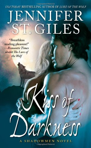 Kiss of Darkness (The Shadowmen, Book 3) by Pocket Books