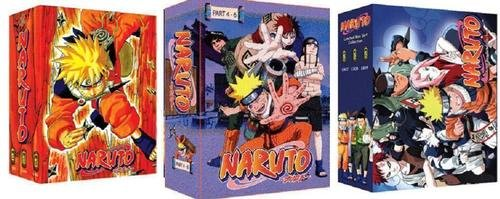 Naruto Complete Tv Series (Ep1-220) + 3 Movies Dvd Box Part 1-9. All Region = Region 0 in English Subtitle. Japanese Audio. Fx Dvds. Sold As Is - Complete Naruto Series