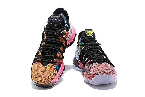 bf321dfc8963 songmingjun Mens KD 10 Basketball Shoes Polychrome (7US)