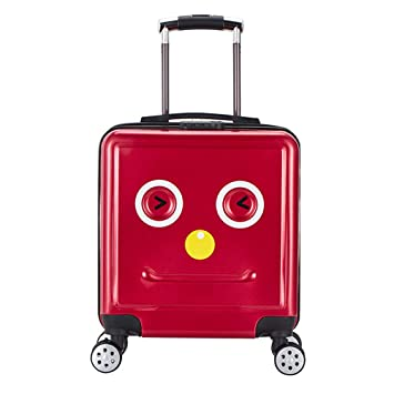 f49a5812044c Amazon.com | 3D Kids Carry on Luggage Cases 18in Cartoon Child ...
