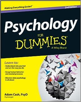 Psychology For Dummies Adam Cash 8601200469219 Amazon Com Books