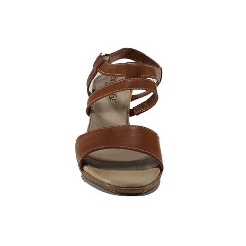 Sandalo E Borse itScarpe 33Amazon Cuoio In Pelle Color Numero LR54Aj