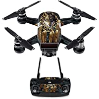 Skin for DJI Spark Mini Drone Combo - Wolf Dreams| MightySkins Protective, Durable, and Unique Vinyl Decal wrap cover | Easy To Apply, Remove, and Change Styles | Made in the USA
