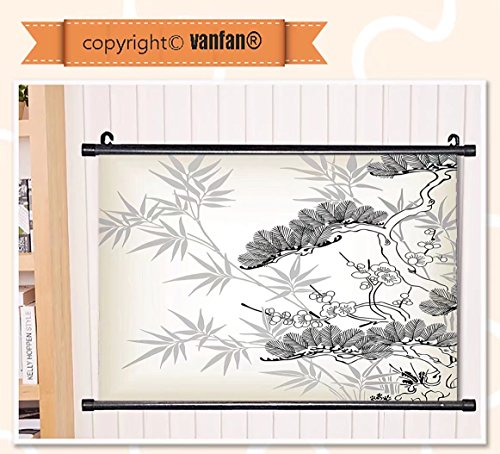 vanfan Wall Scroll Poster- Japanese Decor Collection Asian S