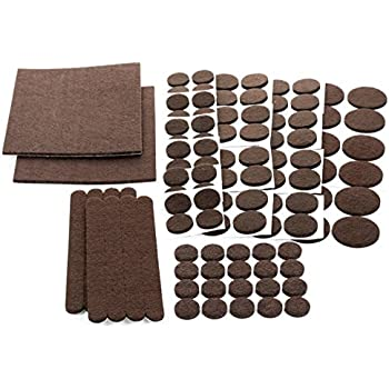 Felt Pads 38 Pack Various Sizes Self Stick Heavy Duty