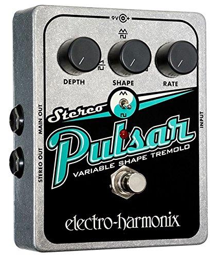 Electro-Harmonix Stereo Pulsar Tremolo Pedal by Electro-Harmonix