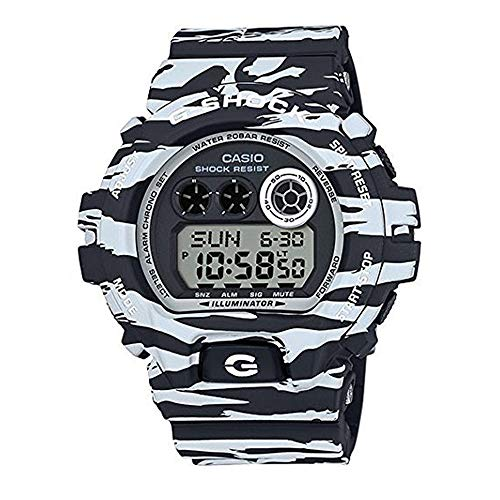G-Shock GDX-6900BW-1 Black and White Series Luxury Watch - Tiger Camo/One Size