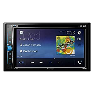 "Pioneer AVH-201EX 6.2"" Multimedia DVD Receiver with Bluetooth"