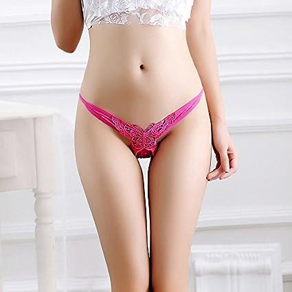RRRRZ*La Sra. encajes ropa interior femenina sexy grid sabor transparente no marca 3