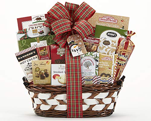 Wine Country Gift Baskets Season's Greetings Holiday Gift Basket. Godiva and Ghirardelli Chocolate Gift Basket. Perfect For Family Gifts, Mother's Day Gifts, Christmas Gifts, Corporate Gifts ()