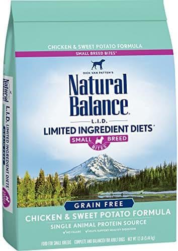 Natural Balance Puppy Formula L.I.D. Limited Ingredient Diets Dry Dog Food, Potato & Duck Formula