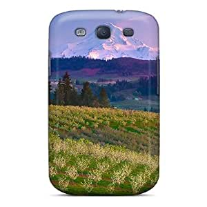 Cool Hard Plastic Galaxy S3 Case Back Cover,hot Over Hills Valleys Case At Perfect Diy
