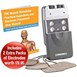 Med-Fit Maxi-Stim High Value Electronic sports Muscle Stimulator and Muscle Toning Machine by Medfit