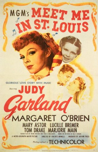 Meet Me in St. Louis Poster Movie B 11x17 Judy Garland Margaret O'Brien Mary Astor Lucille Bremer Meet Me In St Louis Christmas