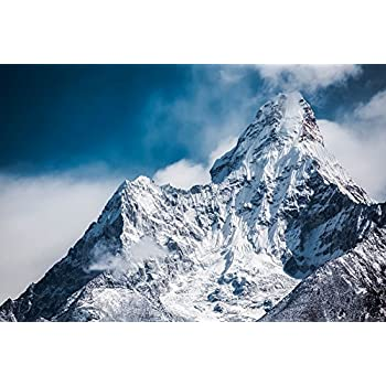 Amazon Com K2 Snow Capped Mountain Poster Borders