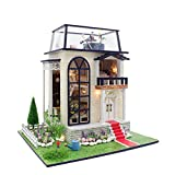 House Kits DIY Wooden Miniature House With Furniture LED Light Gifts For Girls And Boys The Best Gifts For All Holiday Spend Time Together