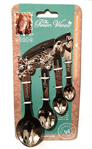 The Pioneer Woman Cowboy Rustic Metal Figural Measuring ()