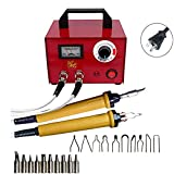 TOPCHANCES 110V Multifunction Pyrography Machine Gourd Wood Pyrography Crafts Tool 100W YN - Ships from CA