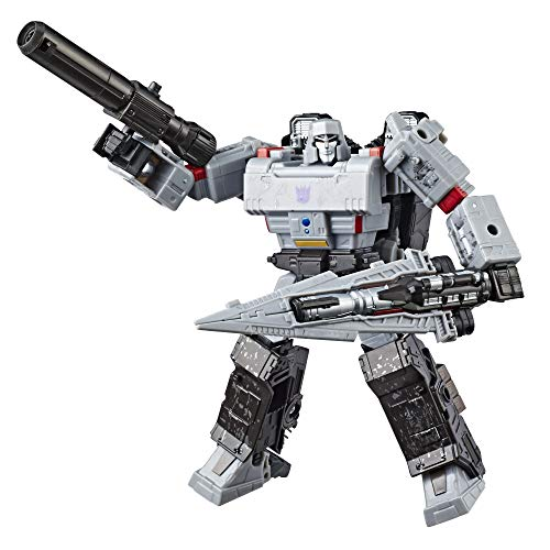 Transformers Generations War for Cybertron: Siege Voyager Class WFC-S12 Megatron Action Figure ()