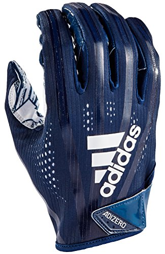 adidas AF1000 Adizero 7.0 Receiver's Gloves, Navy, - Gloves Adidas Football
