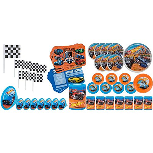Hot Wheels 'Wild Racer' Favor Pack (48pc) ()