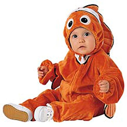 (Baby Clown Fish Halloween Costume (Size:)