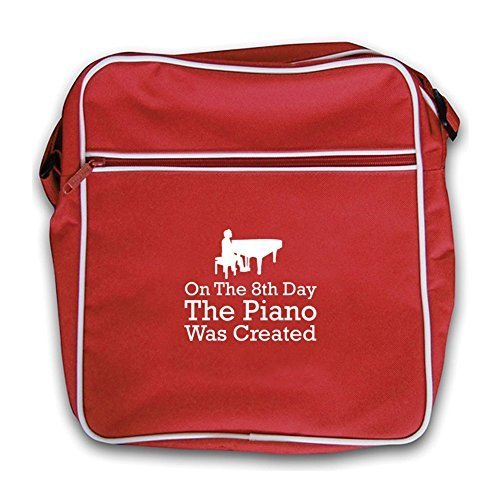 On The Retro Piano Flight Was Created Red 8th Dressdown Day Bag SOwdFOq