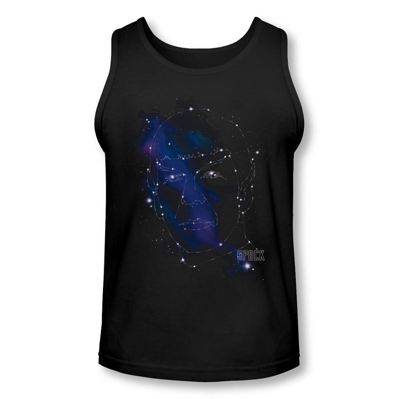 Star Trek - Mens Spock Constellations Tank-Top