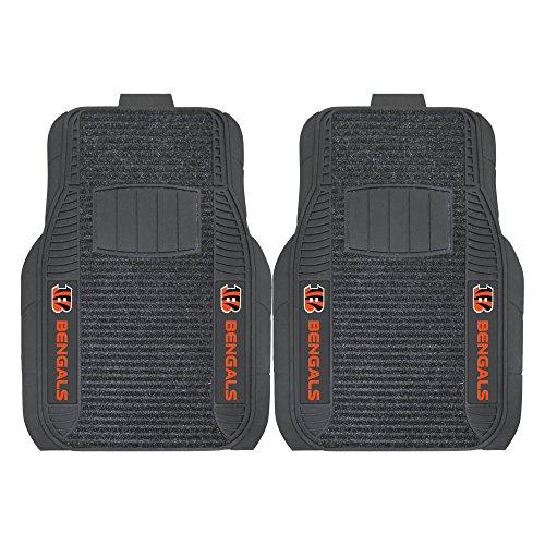 FANMATS 14754 NFL - Cincinnati Bengals Deluxe Car Mat (Carpet Bengals)