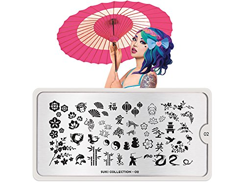 MoYou Stamping Schablone - Suki 02