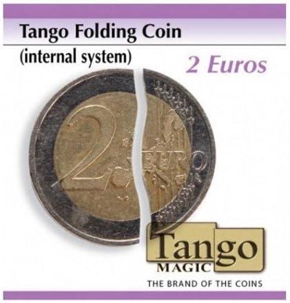 Moneda plegable - 2 Euros - sistema interno: Amazon.es: Juguetes y ...