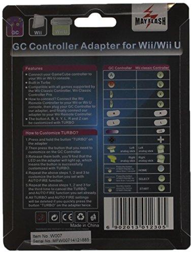 Mayflash Nintendo GameCube Controller Adapter for Wii/Wii U