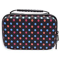 GUANHE EVA storage bag Case Protective Travel Carrying Case Cover for hard drive,SSD,Nintendo New 3DS XL/ 3DS XL NEW…