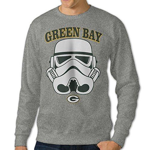 [Mooy Men's Design Green Bay Hooded Sweatshirt Size XL Ash] (Mangle Costume Ideas)