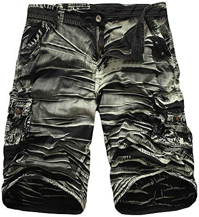 Nicircle メンズショートパンツ アウトドア メンズ ショートパンツ 大きいサイズ メンズ カーゴパンツ 夏 無地 人気 ファッション カジュアル 新しい 多色 Men's Casual Shorts Pant