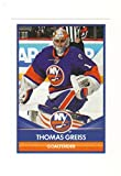 2016-17 Panini Hockey Stickers #127 Thomas Greiss NY Islanders