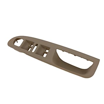 2 Puerta Beige Master Ventana Interruptor de espejo panel bisel embellecedor de interruptor, diseño de VW Passat B6: Amazon.es: Coche y moto